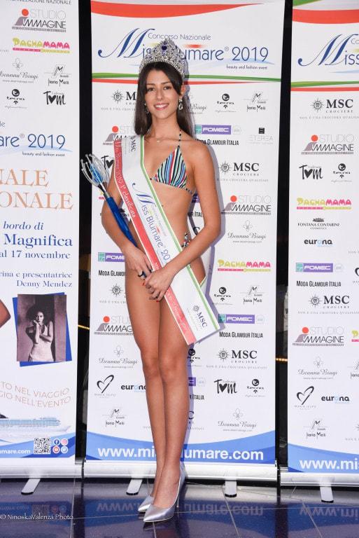 Giada Carducci Miss Blumare 2019
